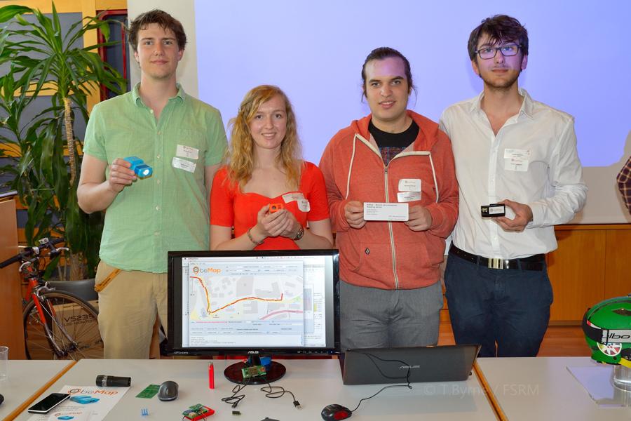 BeMAP Team from EPFL